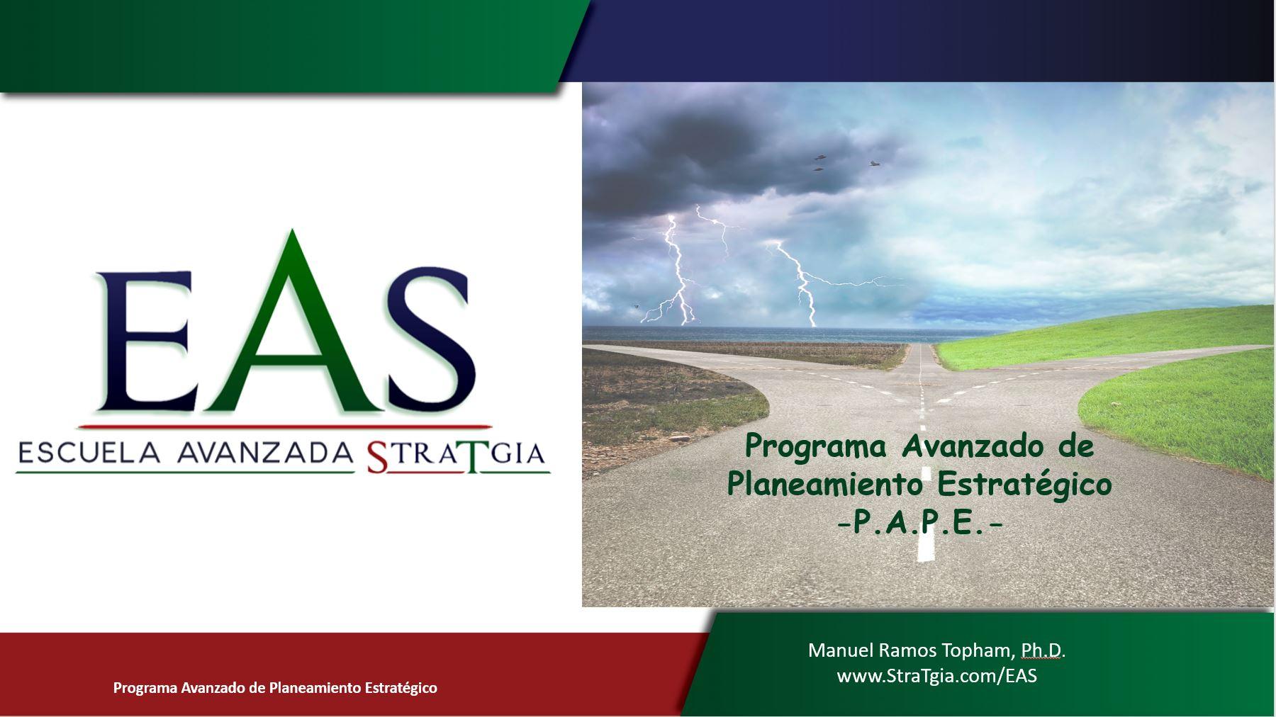 Programa Avanzado de Planeamiento Estratégico